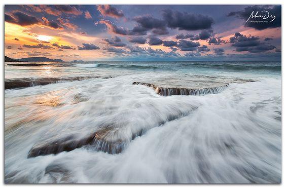 El mar... por Alonso Díaz