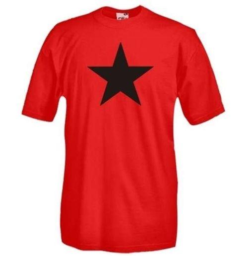 Camiseta Estrela Vermelha Comunismo por apenas R$ 60,79 no ...