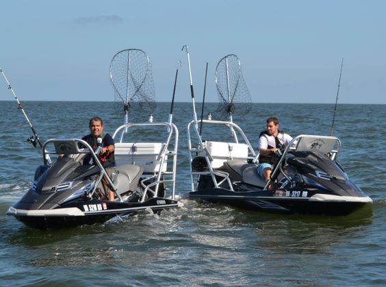 Jet ski fishing adventures jet ski fishing pinterest for Fishing jet boat
