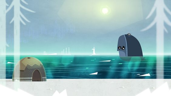 Backgrounds for Shaman's Quest animation project on Behance