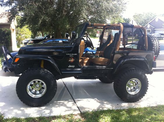 Lifted Sahara TJs - JeepForum.com