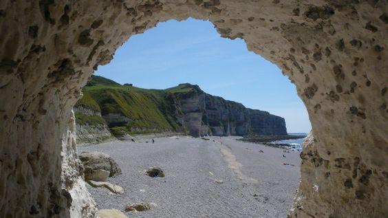 D'Etratat à la plage de la poterie Cap d'Entifer en passant par la plage du Tilleul - Plage du tilleul | da jeanlouisallix