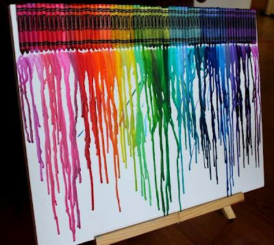 melted crayons crayons and melted crayon art on pinterest