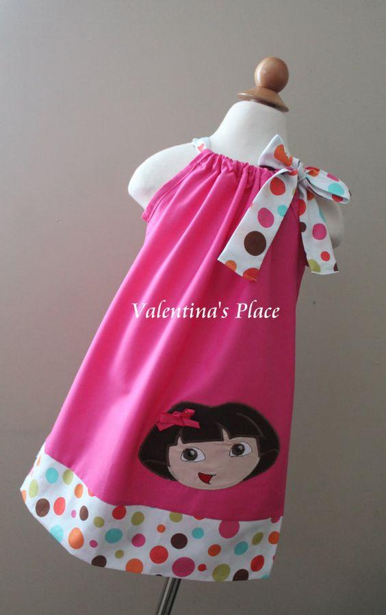 Super liebenswert Dora The Explorer Kissenbezug Stil Kleid.
