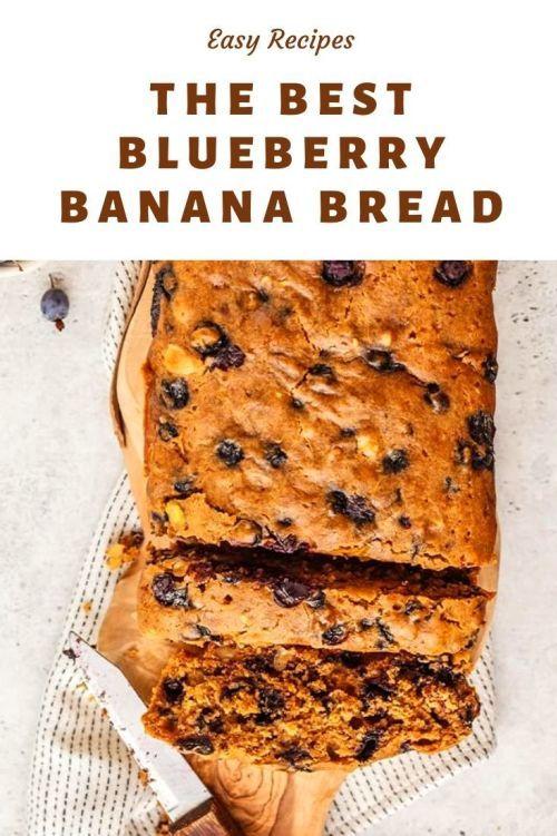 Blueberry Banana Bread Recipes Of Holly In 2020 Blueberry Banana Bread Banana Bread Recipes Banana Bread
