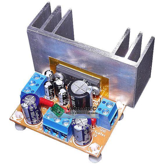Amplificador LA4282  10W+10W