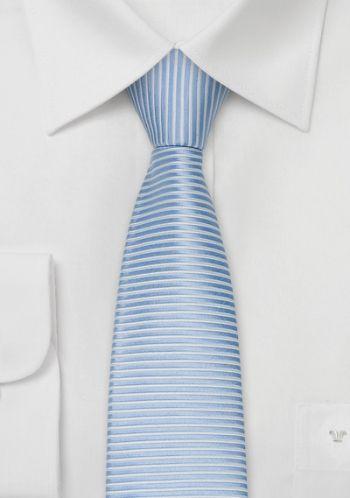 Rimini Krawatte eisblau/weiß