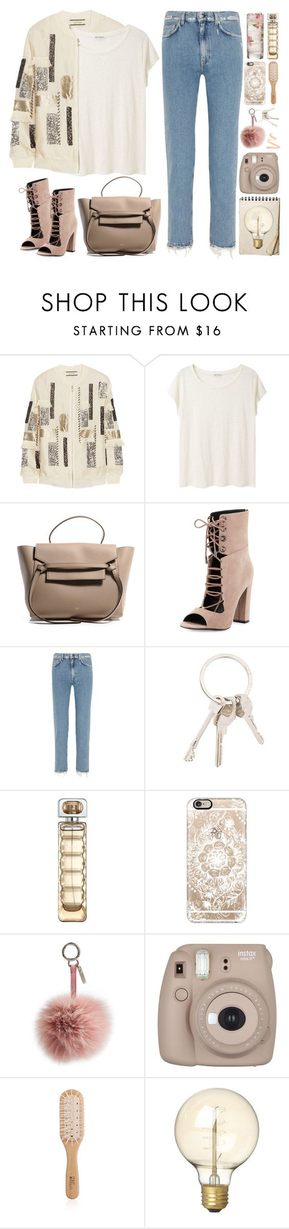 """""""2416. Hurt me with the truth but never comfort me wit a lie."""" by chocolatepumma ❤ liked on Polyvore featuring By Malene Birger, Acne Studios, Kendall + Kylie, Givenchy, HUGO, Casetify, Fendi, Fujifilm, Philip Kingsley and CB2"""