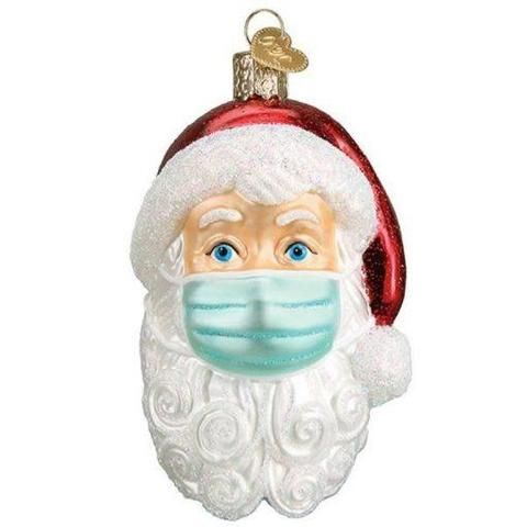 Quarantine Survivor Family with Face Cover Customized Tradition for Family 2020 Personalized Christmas Ornaments