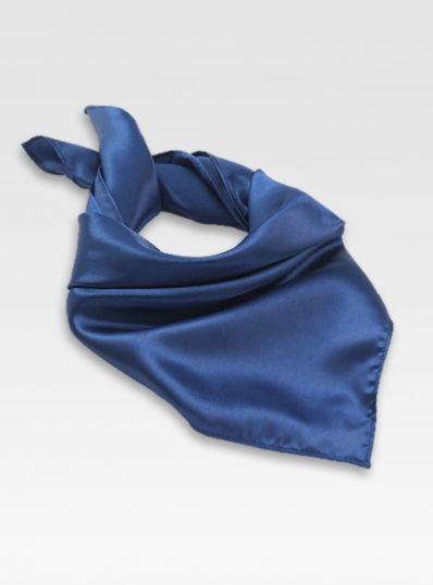 Damenhalstuch Poly-Faser blassblau