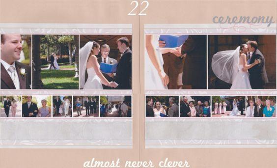 Wedding Scrapbook | Almost Never Clever.