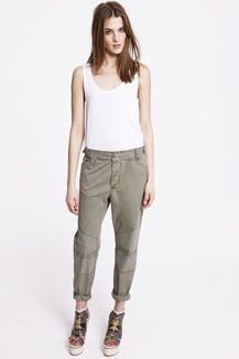 Surface To Air Cotton Patch Oversized Chinos