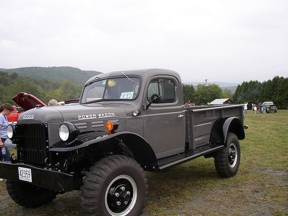 1956 Dodge Power Wagon Front Left