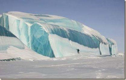 Frozen Wave - Lake Huron, Mackinaw City, MI
