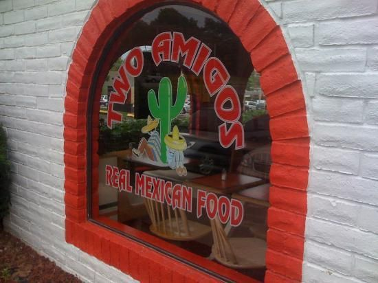 Two Amigos restaurant...great Mexican!