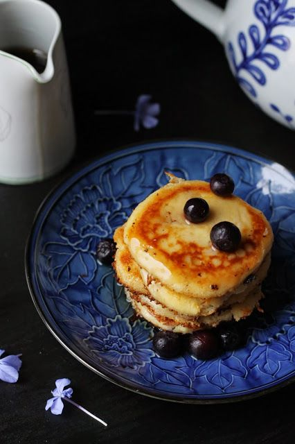 Where Your Treasure Is: Creamy Cottage Cheese and Coconut Pancakes