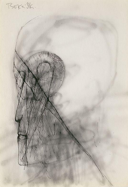 Zdzisław Beksiński | | | 29.8 x 21.2 cm