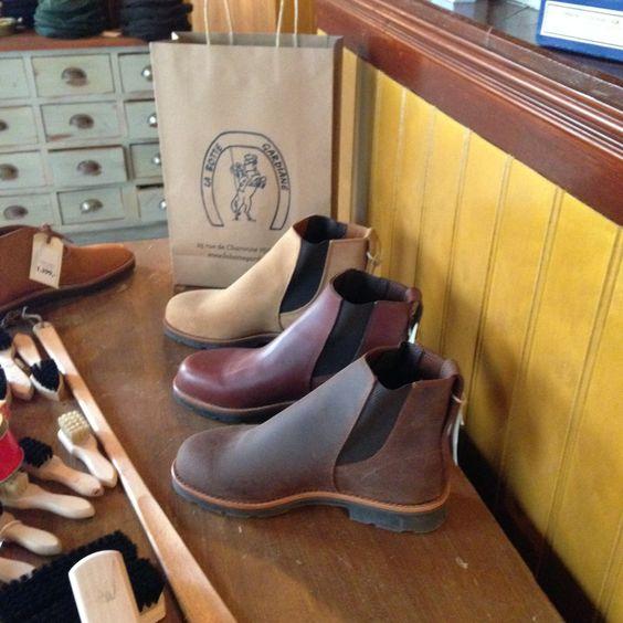 Boots from La Botte Gardinane. Franske håndsyede støvler. #labottegardiane #franskestøvler #ridestøvler #chealseaboots #ankelstøvler