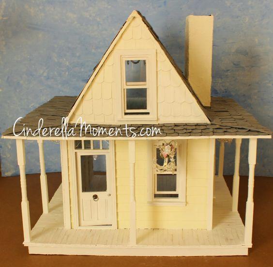 Figaro's Cottage Custom Dollhouse Construction Done