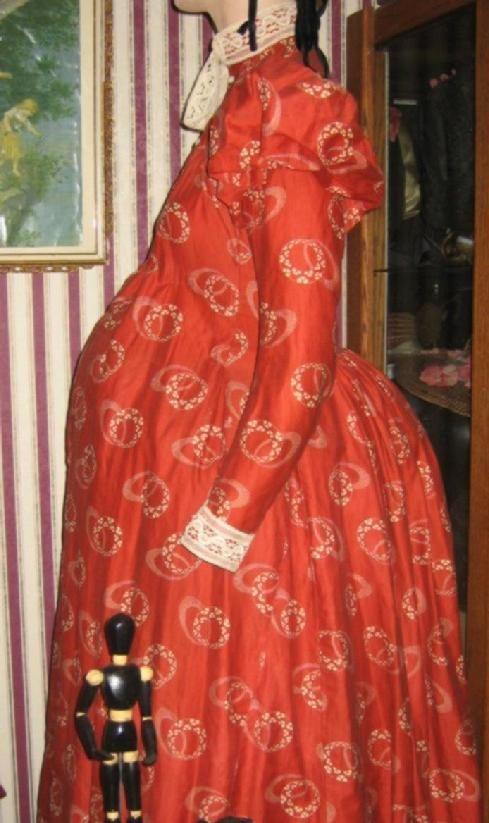 Maternity day dress, c. 1898. Barrington House Educational Center.