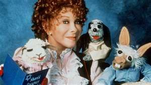 Shari Lewis with Lambchop and Charlie Horse!  I was actually Lambchop for Halloween once.