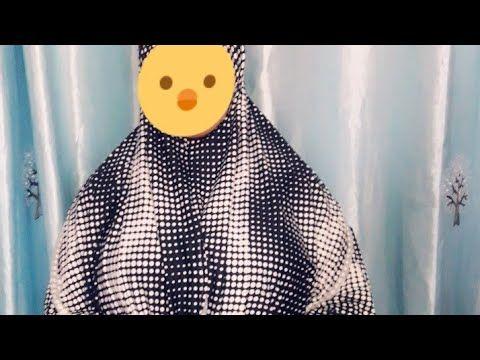 إسدال الصلاة بقطعة واحدة Youtube Polka Dots Dot Tops Fashion