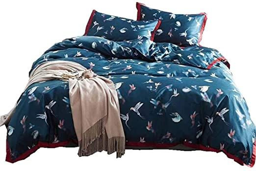 Bedding Cotton 4 Piece Complete Bed Set Autumn And Winter Keep Warm Includes X1 Quilt Cover X2 Pillowcases And X Duvet Cover Sets Bed Duvet Covers Boys Bedding
