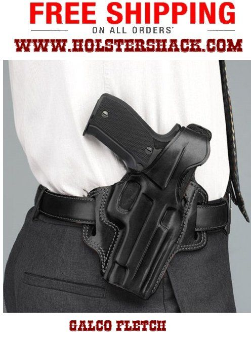 The FLETCH high ride holster is one of Galco's most popular designs. See More at:http://bit.ly/1qgNLNp