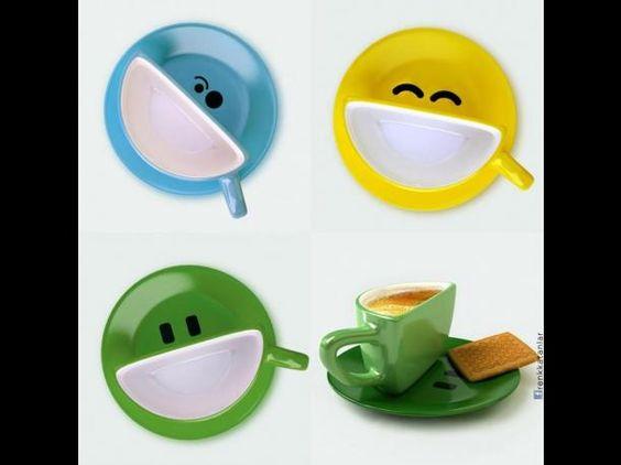 ¿Eres amante del buen café? Ahora vas a disfrutarlo más cuando lo bebas de estas insólitas pero geniales tazas.
