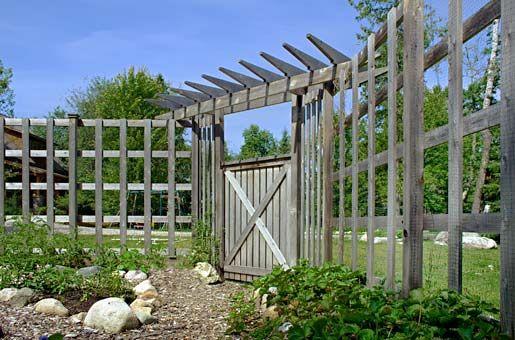 Fencing option for Community Garden