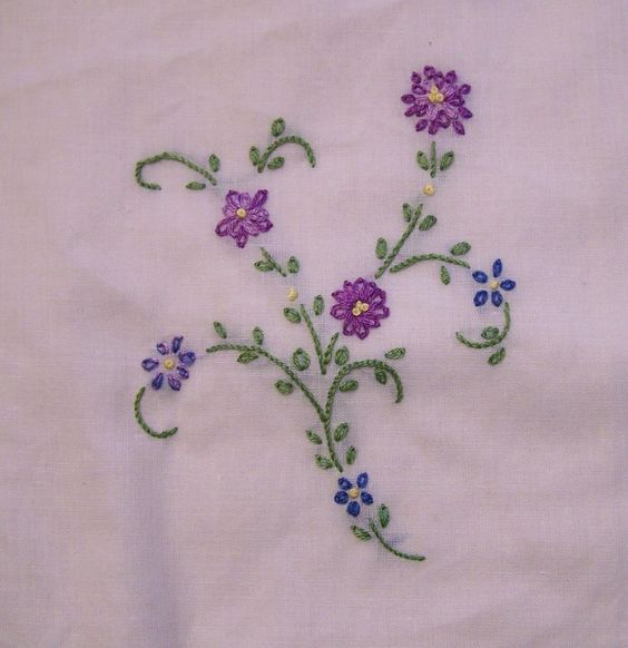 Embroidery Stitches Hand Embroidery And Hand Embroidery Stitches On Pinterest
