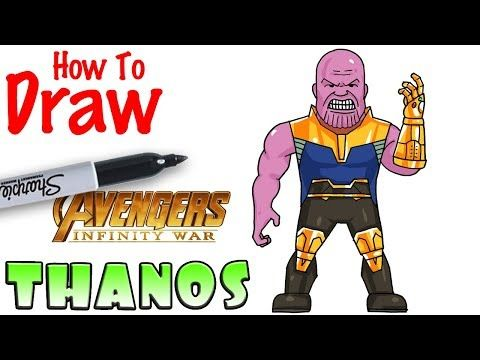 How to Draw Thanos | Avengers Infinity War - YouTube | Fortnite
