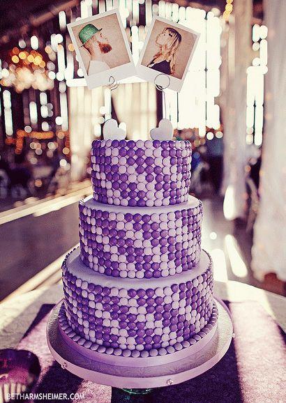 Macaron-decorated Cake