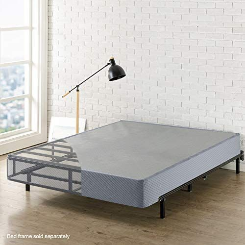 Best Price Mattress Queen Box Spring 9 High Profile With Heavy Duty Steel Slat Mattress Foundation Fits Standard Bed Frame Queen Size In 2020 Standard Bed Frame Queen Size Bed Frames Bed Frame
