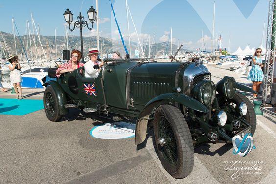 Bentley Le Mans de 1929 à Saint-Jean-Cap-Légendes édition 2015 - Concours d'élégance en Automobile - 1920 à 1944. #SJCFLegendes
