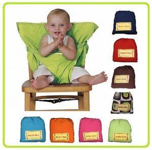 chaise bebe nomade 9 couleurs siege de voyage en tissu On chaise nomade bebe
