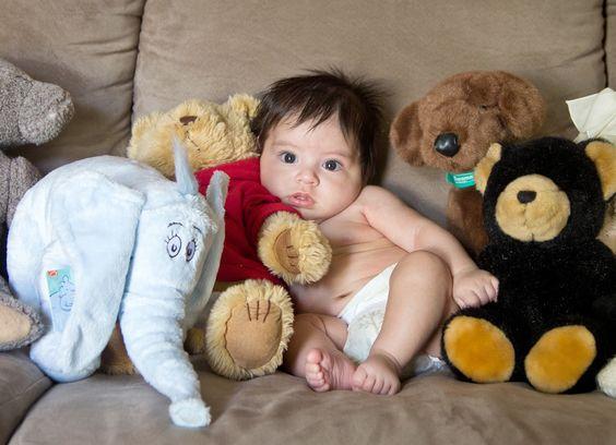 <3:  Teddy Bear, Baby
