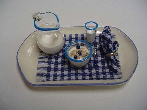 Breakfast Tray - Blue (miniature)