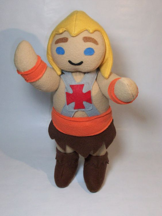 This little He-Man is adorable! Everything else in her shop is pretty