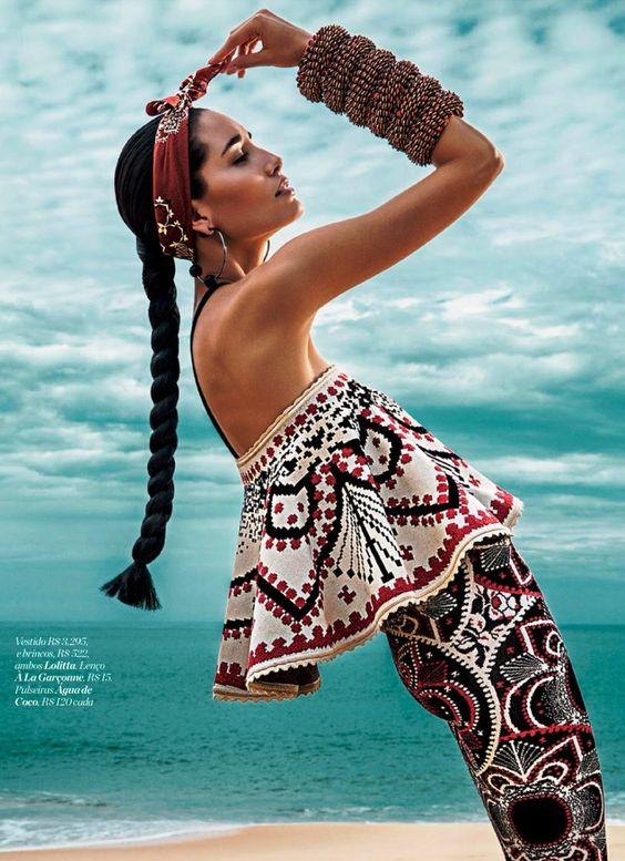 Marie Claire Brazil August 2014 | Marcelia Freesz by Fabio Bartelt [Editorial]: