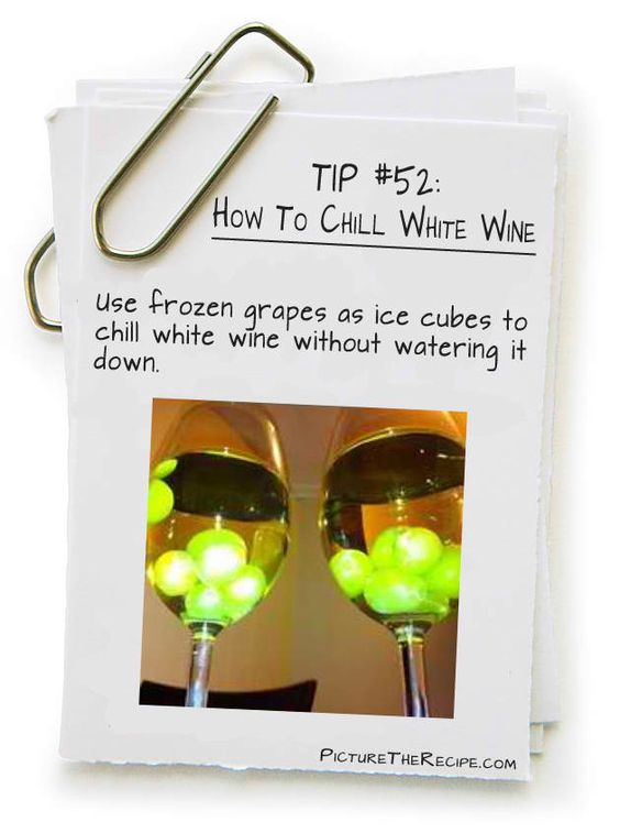 Simple way on How to Chill White Wine