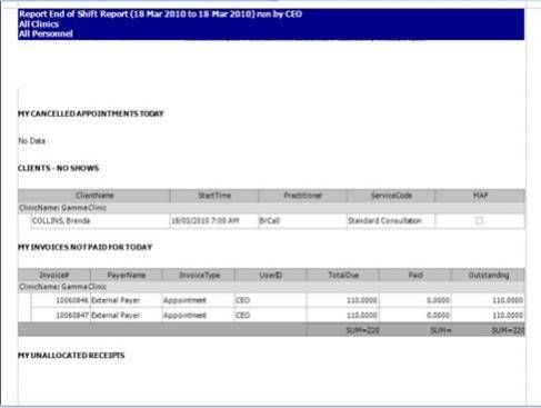 4 Daily Shift Report Templates Templates Report