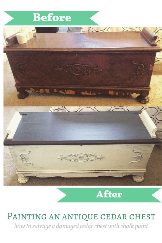 Refinishing a beat up antique cedar chest how to  figuringitoutaswegoalong.wordpress.com