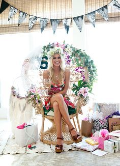 Malibu Barbie bridal shower hosted by the Show Me Your Mumu girls