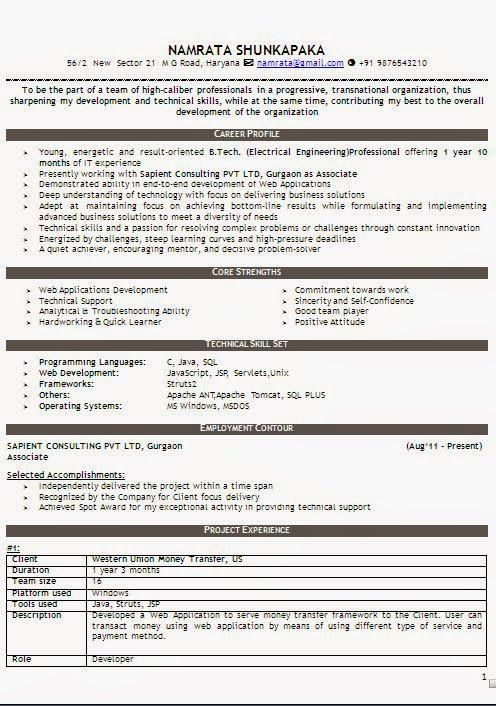 designs for resume Sample Template Example ofExcellent Curriculum - resume quick learner
