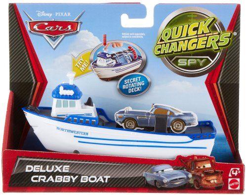 Cars Quick Changers Transforming Crabby Boat Transporter Mattel Http Www Amazon Com Dp B0089kvyjo Ref Cm Sw R Pi Dp X2jntb1v Cars Characters Boat Pixar Films