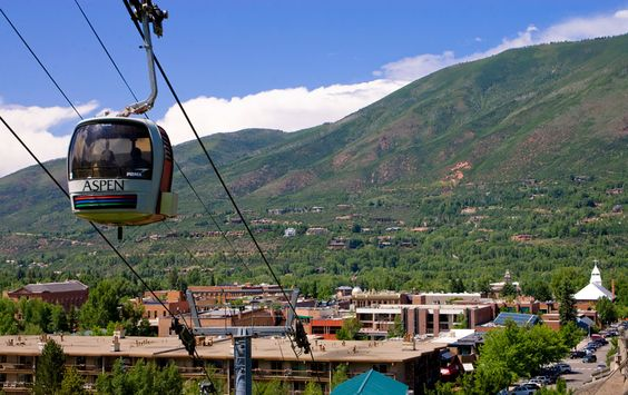 Colorado ski towns in the summer