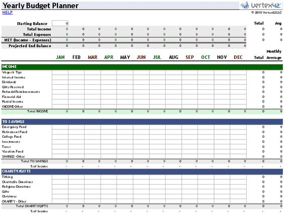 This free Money Management Template for Excel is basically a