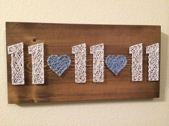 I could do a wall with all kinds of special dates; wedding, birth of child, etc.