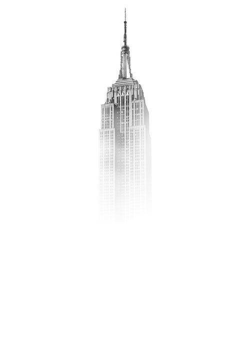 Iphone X Plus Wallpaper 4k Tecnologist New York Wallpaper Empire State Building Minimalist Wallpaper